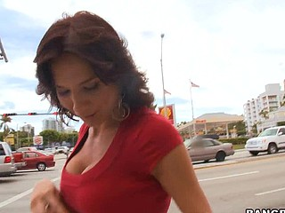 We have the sexy Karina O'Rielley on this day's Mother I'd Comparable to To Fuck Soup. This sweetheart is a real sex nymph. This Babe really turned up the heat on this one. Karina let Buddy have his way with the snatch after this babe gobbled the penis down. One Time his wang was ready for action. Buddy flipped her up and rubbed her down. Beating the dust off that snatch and her backdoor. Making her moan with each stroke of the rod. That Guy was hitting it from each angle possible. Wow! Un-fucking believable! U've got to be a fool if u miss out on this one. Karina O'Reilley did her thing! Have A Fun!
